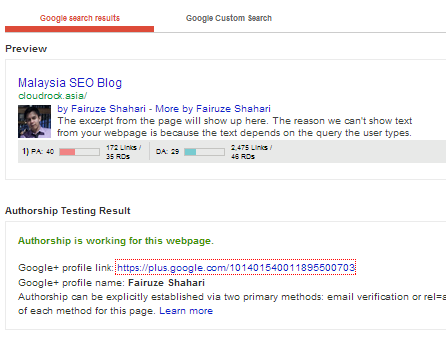 Test Your Rich Snippets